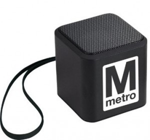 Bluetooth speakers are a popular trade show giveaway item