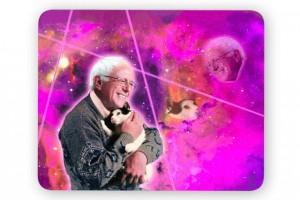 Bernie Sanders mouse pad