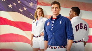 Team USA gear created by Ralph Lauren for the Rio 2016 Olympics.